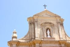 baroque cathedral in Victoria