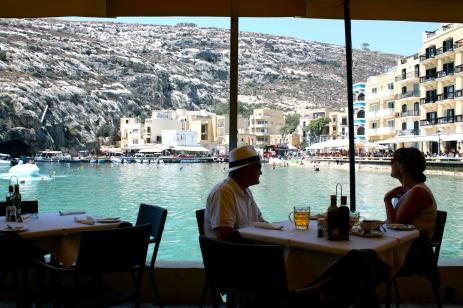 restaurant in Xlendi
