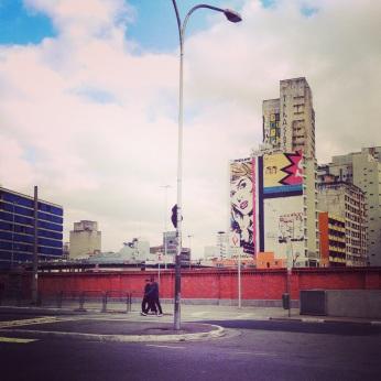 streets of Sao Paulo