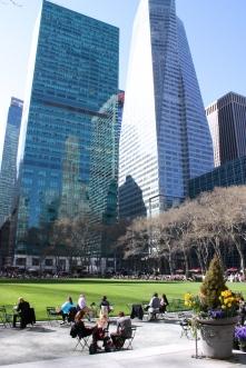 Skyscraper at the Byrant Park