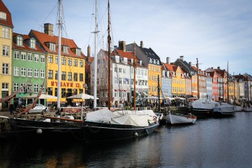 famous canal Nyhavn