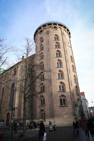 cylindrical tower, Rundetarn