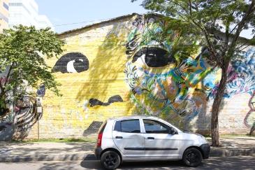 street art by Stinkfish, Medellín