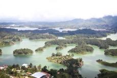 view from La Piedra del Peñol, Guatapé