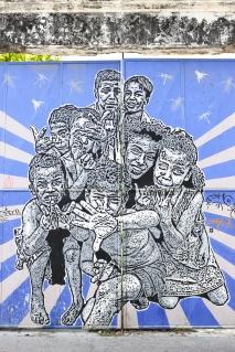 street art by Toxicomano, Getsemani, Cartagena