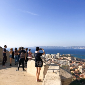 View from the Notre-Dame de la Garde