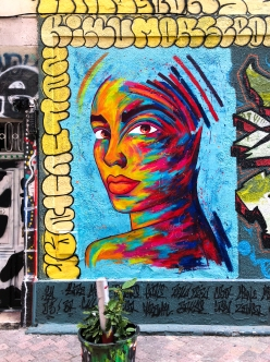 Street art close to Cours Julien